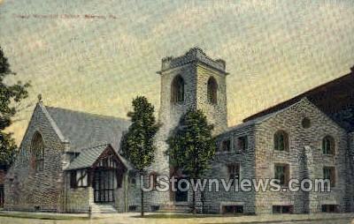 Trinity Memorial Church - Warren, Pennsylvania PA Postcard