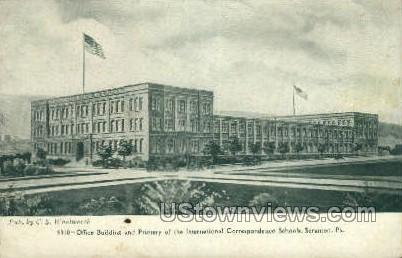 International Correspondence Schools - Scranton, Pennsylvania PA Postcard