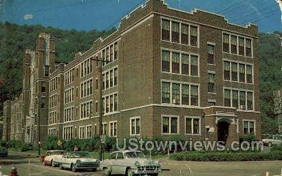 Central High School, Johnstown - Pennsylvania PA Postcard