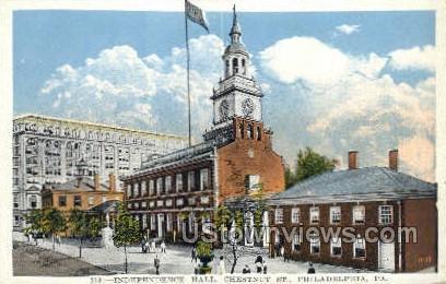 Independence Hall - Philadelphia, Pennsylvania PA Postcard