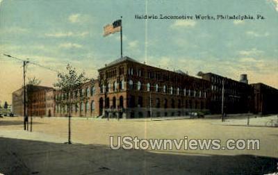 Baldwin Locomotive Works - Philadelphia, Pennsylvania PA Postcard