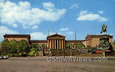 314 Art Museum - Philadelphia, Pennsylvania PA Postcard