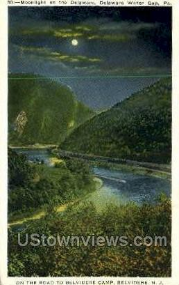 Belvidere Camp - Delaware Water Gap, Pennsylvania PA Postcard