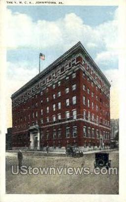 YMCA, Johnstown - Pennsylvania PA Postcard