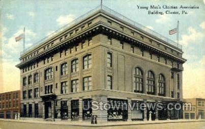 Young Men's Christian Assoc. - Chester, Pennsylvania PA Postcard