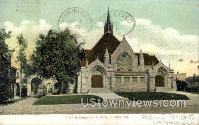 Third Presbyterian Church - Chester, Pennsylvania PA Postcard