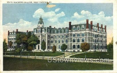 State Teachers College - Chester, Pennsylvania PA Postcard