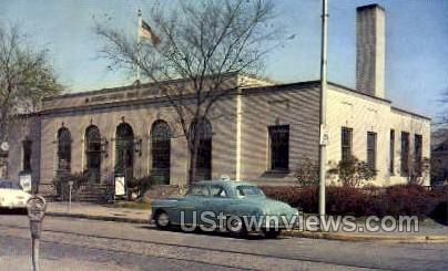 US Post Office, Ambridge - Pennsylvania PA Postcard