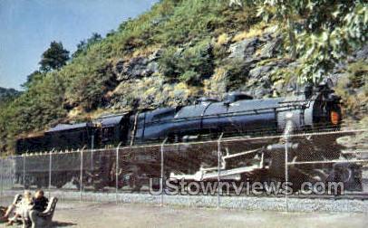 Memorial K4 Steam Locomotive - Altoona, Pennsylvania PA Postcard