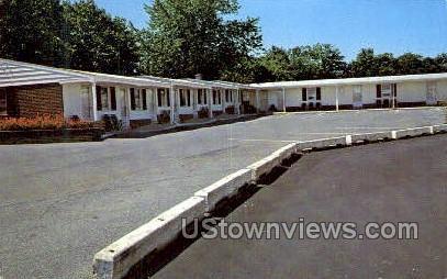 Akron Motel - Pennsylvania PA Postcard
