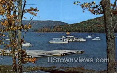 Wolf Run Marina - Warren, Pennsylvania PA Postcard