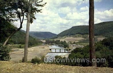 Kinzua Dam - Warren, Pennsylvania PA Postcard