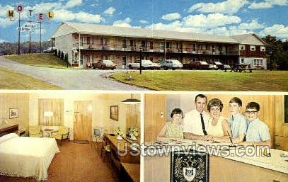 Rocky Ridge Motel - York, Pennsylvania PA Postcard