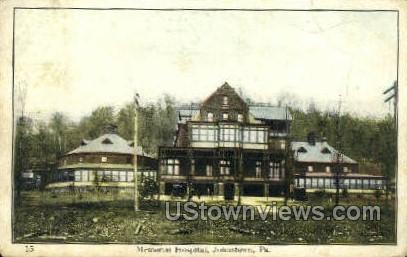 Memorial Hospital - Johnstown, Pennsylvania PA Postcard