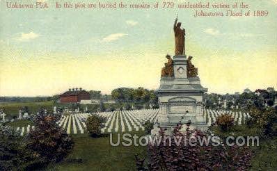 Johnstown Flood 1889 - Pennsylvania PA Postcard