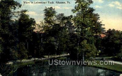 Lakemont Park - Altoona, Pennsylvania PA Postcard