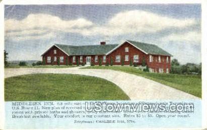 Middlesex Inn - Carlisle, Pennsylvania PA Postcard