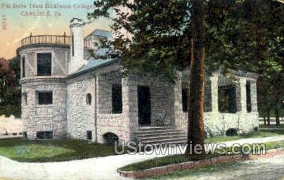 Phi Delta Theta Dickinson College - Carlisle, Pennsylvania PA Postcard