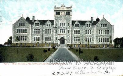 Muhlenberg College - Allentown, Pennsylvania PA Postcard
