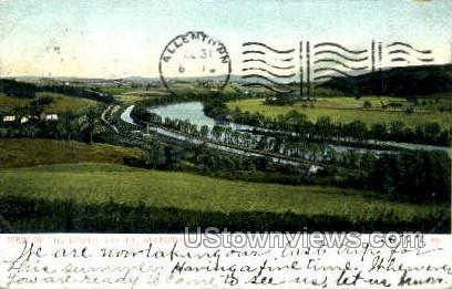 Lehigh Valley - Allentown, Pennsylvania PA Postcard