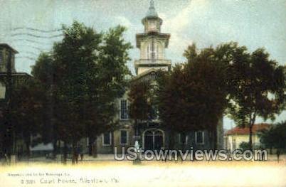 Court House - Allentown, Pennsylvania PA Postcard