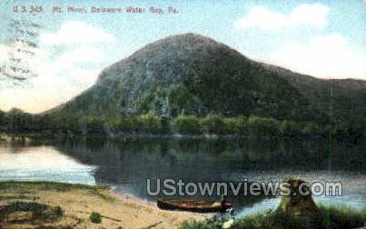 Mt. Minci - Delaware Water Gap, Pennsylvania PA Postcard