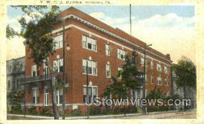 YWCA Bldg - Scranton, Pennsylvania PA Postcard
