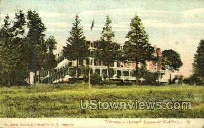 Glenwood House - Delaware Water Gap, Pennsylvania PA Postcard