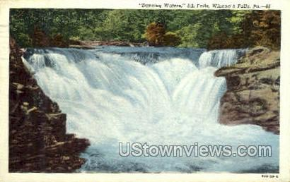 5th Falls - Winona, Pennsylvania PA Postcard