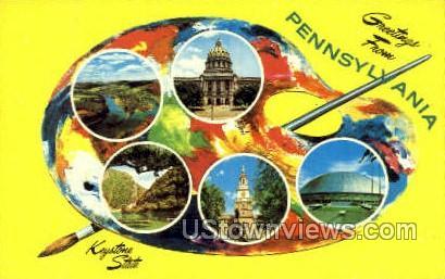 Independence Hall - Harrisburg, Pennsylvania PA Postcard