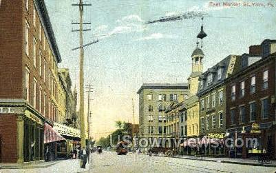 East Market Street - York, Pennsylvania PA Postcard