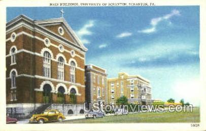 University of Scranton - Pennsylvania PA Postcard