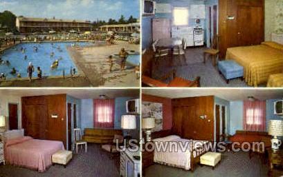 Lucky Well Motel - Ambler, Pennsylvania PA Postcard