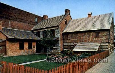 Gates House, Plough Tavern - York, Pennsylvania PA Postcard