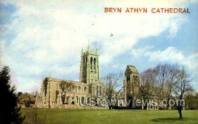 Bryn Athyn Cathedral - Pennsylvania PA Postcard