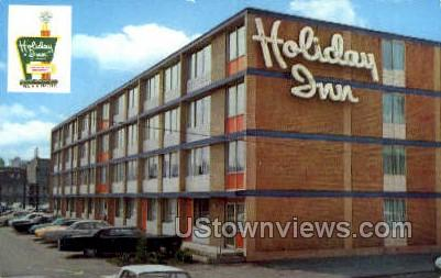 Holiday Inn - Scranton, Pennsylvania PA Postcard