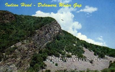 Indian Heal - Delaware Water Gap, Pennsylvania PA Postcard