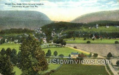 Stroudsburg Heights - Delaware Water Gap, Pennsylvania PA Postcard