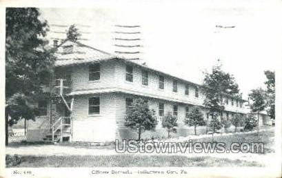 Officers Barracks - Indiantown Gap, Pennsylvania PA Postcard