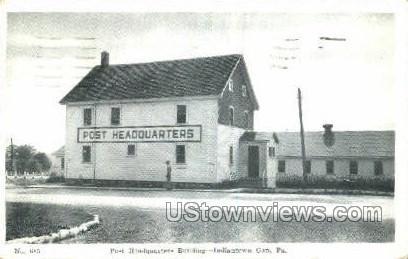 Post Headquarters Bldg - Indiantown Gap, Pennsylvania PA Postcard