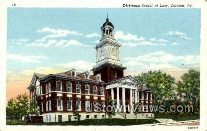 Dickinson School of Law - Carlisle, Pennsylvania PA Postcard