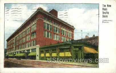 The New Penn Traffic Store - Johnstown, Pennsylvania PA Postcard