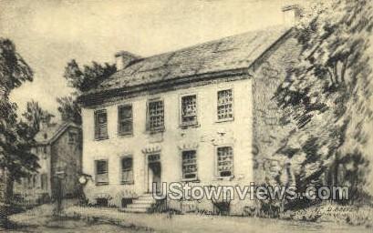 McManus House - Carlisle, Pennsylvania PA Postcard