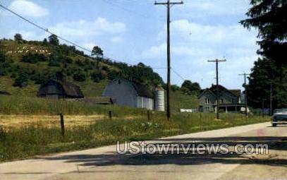 Roosevelt Highway, Coudersport - Pennsylvania PA Postcard