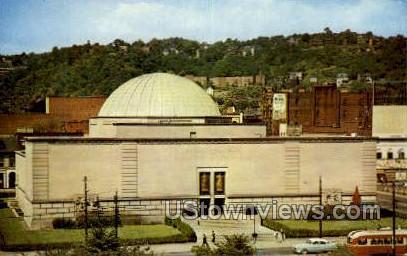 Buhl Planetarium - Pittsburgh, Pennsylvania PA Postcard