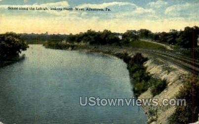 Lehigh, North West - Allentown, Pennsylvania PA Postcard