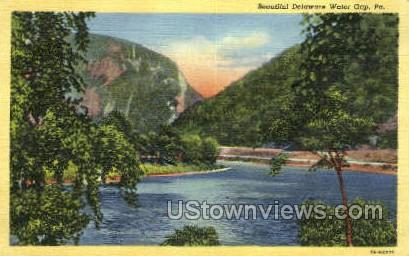 Delaware Water Gap, Pennsylvania, PA, Postcard