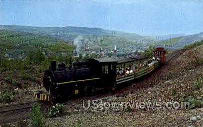Old Steam Lokie - Ashland, Pennsylvania PA Postcard