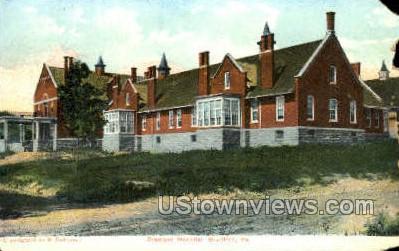 Bradford Hospital - Pennsylvania PA Postcard