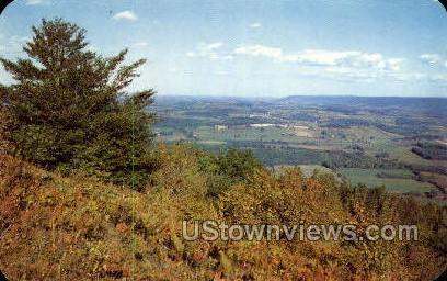 Lambs Lookout - Canton, Pennsylvania PA Postcard